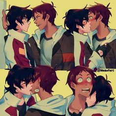 None of the art on here is mine so yee dont Sue me All the Credi… – Voltron klance – Paleo Voltron Klance, Voltron Comics, Voltron Memes, Voltron Fanart, Form Voltron, Voltron Ships, Klance Cute, Cute Gay, Klance Comics