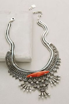 WE ♥ THIS!  ----------------------------- Original Pin Caption: Kofi Bib Necklace #anthrofave