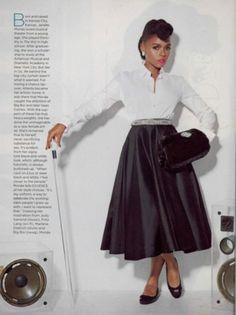 Janelle Monae for Essence Magazine