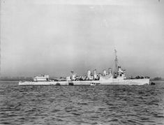 HMS Newmarket was modified for trade convoy escort service by removal of three of the original 4-inch (102 mm)/50 caliber guns and one of the triple torpedo tube mounts to reduce topside weight for additional depth charge stowage and installation of hedgehog