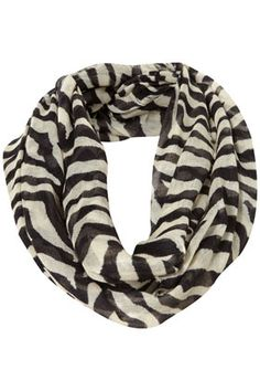Zebra stripe snood