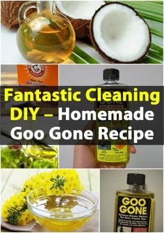 Fantastic Cleaning DIY – Homemade Goo Gone Recipe #googone #DIY #homemade