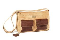 Cork bag BAKI Natural Wood