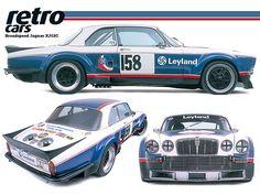 "Great idea, looked good, but was it competitive? Legends create their own euphoria regardless of success. ""If we build them,. someone will buy them"". Jaguar Xj40, Jaguar Sport, Jaguar E Type, Jaguar Cars, Vintage Sports Cars, British Sports Cars, Retro Cars, Vintage Cars, Cars Uk"