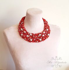 Hey, I found this really awesome Etsy listing at https://www.etsy.com/listing/236108639/statement-necklace-unique-jewelry