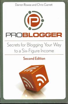 "As it says on the back cover: ""Turn your passion for blogging into extra revenue"" Amazon: tomantique2002"