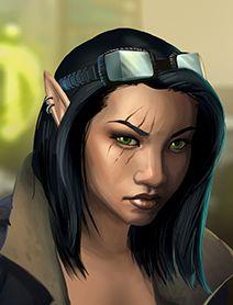 "female elf; shadowrun; asian; (used for ""Yumiko"")"