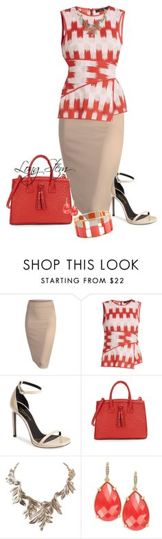"""07/07/15"" by longstem ❤ liked on Polyvore featuring BCBGMAXAZRIA, Yves Saint Laurent, Ivanka Trump, Humble Chic, ABS by Allen Schwartz and Lele Sadoughi"