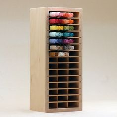 Organize your Stampin' Blends markers by Stampin' Up!® in the Stamp-n-Storage Marker Holder for Stampin' Blends. Arts And Crafts House, Arts And Crafts Projects, Space Crafts, Craft Space, Craft Room Storage, Craft Organization, Scrapbook Organization, Organizing Tips, Craft Rooms