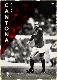 Eric Cantona Football Legends on Behance Bryan Robson, Eric Cantona, Sir Alex Ferguson, Manchester United Football, Soccer Players, Ronaldo, All About Time, The Unit, Infographics