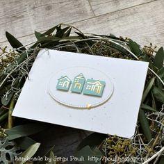 Herbstkarten mit Stampin'Up! Weihnachten daheim und Bigshot Stanzen