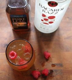 Raspberry Arnold Palmer...may use unsweetened tea for a less sweet version