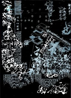The New Post-literate: A Gallery Of Asemic Writing: 3 from Mauro Cesari