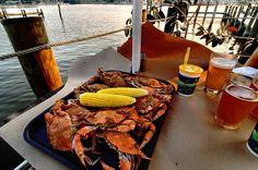 The Chesapeake Bay Blue Crab. My Favorite Summer Fun Food! Yessir!