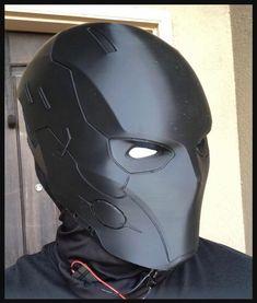 Suit Of Armor, Body Armor, Helmet Armor, Sci Fi Armor, Samurai Armor, Helmet Design, Mask Design, Red Hood Helmet, Futuristic Helmet