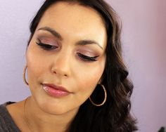 Make-up for Valentines Day using the Naked 3 Palette by Urban Decay, NARS, Charlotte Tilbury, Benefit and NYX.