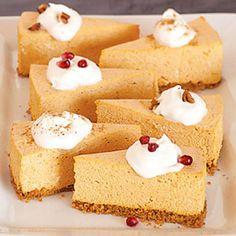 No-Bake Pumpkin Cheesecake diabetic recipe