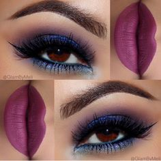I've always wanted to try something like this. Love the lipstick btw.