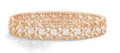 Bracelet My Dior en or rose 18K et diamant