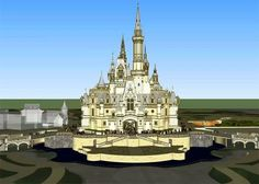 Yeah, Shanghai Disneyland's Enchanted Storybook Castle promises to be the most tricked-out structure ever built at a Disney theme park. Description from jimhillmedia.com. I searched for this on bing.com/images