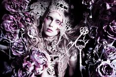 """Wonderland """"The Cold Bloom of a Torn Heart"""" by Kirsty Mitchell, via Flickr"""