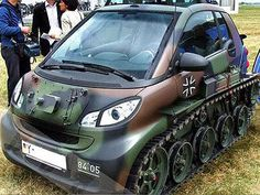I wouldn't normally this car, but for the tracks and camo I'll make an exception.