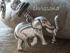 Anhänger Elefant von chrissona auf DaWanda.com