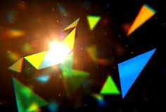 KALEIDOSCOPE opening titles by reanimatr. After Effects with Trapcode Particular 2.