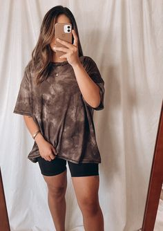 Simple College Outfits, Comfy School Outfits, Summer Outfits Women 30s, Dressy Casual Outfits, Swaggy Outfits, Basic Outfits, Outfit Summer, Oversized Shirt Outfit, Oversized Tee