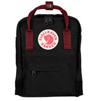 Kanken Mini 550-326 Black/OxRed
