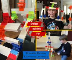 ENDLESS BUILDING FUN WITH BRACKITZ by Mommy University at www.mommyuniversitynj.com #brackitz