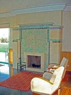 Modern art deco house design – Modern Indian home design by U+B . Indian Home Design, Design Your Home, Art Deco Stil, Modern Art Deco, Art Deco Home, Beautiful Interior Design, Home Interior Design, Interior Decorating, Art Deco Fireplace