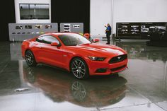 Ford Mustang 50th Anniversary  http://www.weheart.co.uk/2014/02/12/ford-mustang-50th-anniversary/