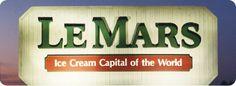 June 12-15, 2013  Ice Cream Days - Le Mars, Iowa