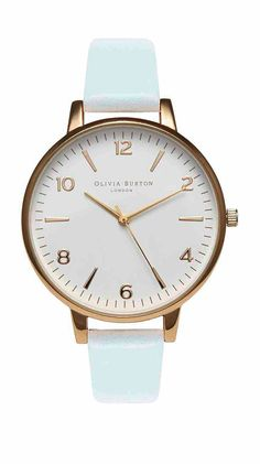 Love Olivia Burton watches - would look great with ClaudiaMadeThis mint accessories. Mint watch
