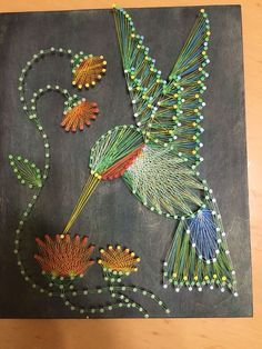 ... String Art on Pinterest | Christmas trees, Diy string art and Patterns