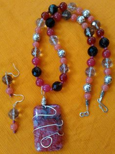 A necklace with a Cherry on Top by Suzi Fowler