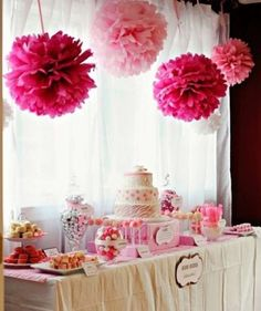 Pink Zebra Party I want my baby shower to look like this : ) Hello? Anyone writing this stuff down? Pink Birthday, 1st Birthday Parties, Birthday Table, Birthday Ideas, Birthday Candy, Art Birthday, Girl Christening Decorations, Christening Centerpieces, Christening Themes