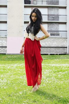 Super red!! (by Sherazade A) http://lookbook.nu/look/3815177-super-red