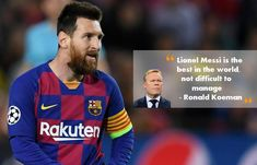 Leo Messi, ranked number 1 footballer in the world was praised by his Barcelona team new coach Ronald Koeman. The star player was addressed difficult to handle by the former Barcelona coach Quique Setien. But Ronald Koeman feels different experience with Messi. #LionelMessi #RonaldKoeman #BarcelonacoachRonaldKoeman #BarcelonaFootballerLionelMessi
