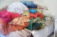 Colorful Petticoats! Swoooonnn!
