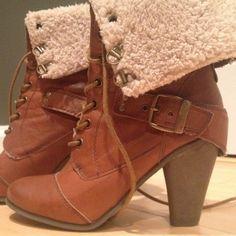 "Spotted while shopping on Poshmark: ""Nine West Booties""! #poshmark #fashion #shopping #style #Nine West #Boots"