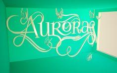 Nombre #aurora en #Cinema4D #CD4