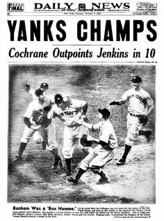 Image result for world series 1937 win