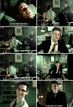 """""""What the hell?"""" - Jim, Ed and Oswald #Gotham ((I would react the same))"""