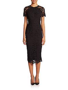 Shoshanna Beaux Guipure Lace Sheath Dress LOVE THIS TOO :) xoxox betsy
