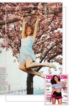 Magazine Cosmopolitan- France - Mai 2017 - Molly Bracken Spring Summer 2017 #cosmopolitan  #webdesign #template
