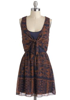 Copper Canyon Dress - Modcloth. Not sure about the fabric (100% rayon) - but it's so cute
