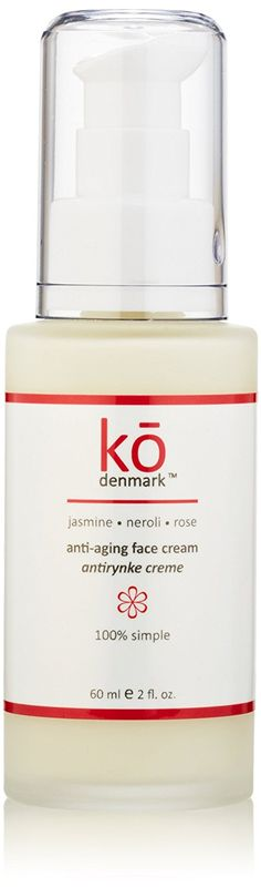 Ko Denmark Anti-Aging Jasmine Neroli Rose Face Cream, 2 Ounce -- You can get additional details at the image link. #beautyandmakeup