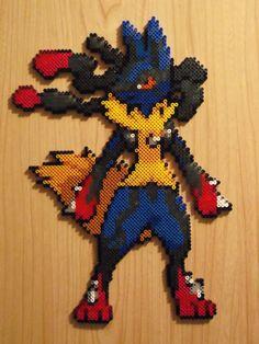 Mega Lucario made in the week  Sprite from DA artist